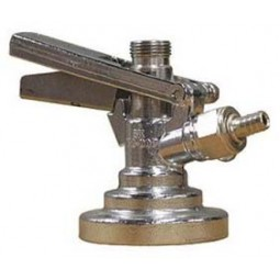 Type G, brass body, SS probe, lever black with pressure relief valve