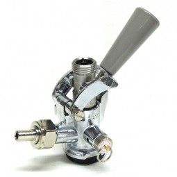 "Coupler, Sankey ""D"" with SS probe, gray handle"