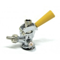 "Coupler, Sankey ""D"" gold handle"
