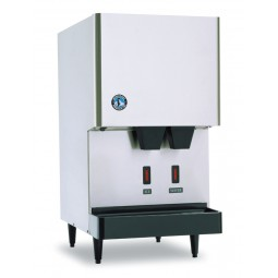 Ice machine/ice & water dispenser, cubelet ice, air cooled, Opti-Serve, 288 lbs ice/day