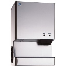 Ice machine/ice & water dispenser, cubelet ice, air cooled, 618 lbs ice/day