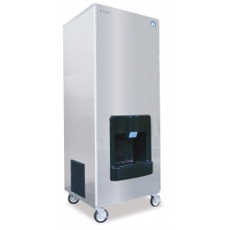 Ice machine/dispenser, Serenity Series, crescent ice, water cooled, 540 lbs ice/day