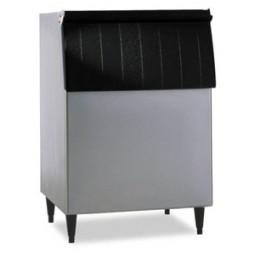"Hoshizaki vinyl clad exterior ice storage bin holds 500 lbs ice 30"" wide"