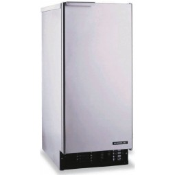 Ice machine self contained cuber and bin 22 lb bin 51 lbs ice/day air cooled