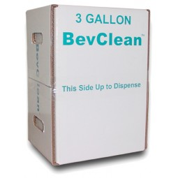 BevClean BIB cleaner, 3 gallon box