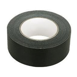 Black duct tape, 2W x 60 yd roll