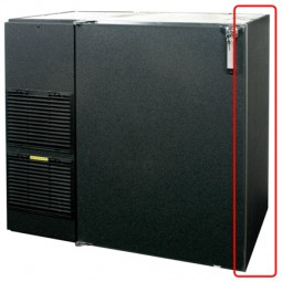 Left side cooler stainless steel *upgrade, not sold separately
