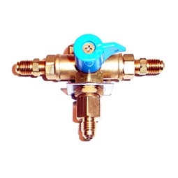 High pressure changeover valve assy, 1/4 MFL, Chudnow