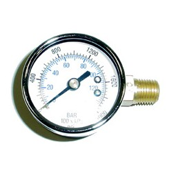 Gauge, 3000 lb RH thread