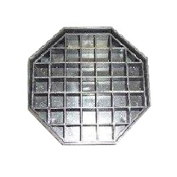 Drip tray with grate - 1 pack