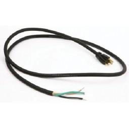 6' 16/3 black 5-15P SJTW 105C cord set