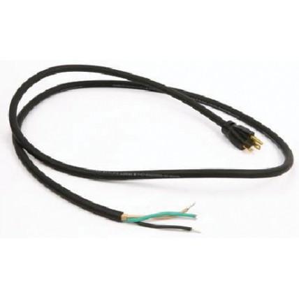 6' 14/3 Black cord