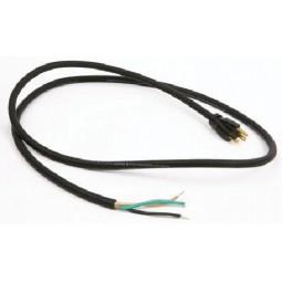 6' 14/3 black 5-15P SJTW 105C cord set