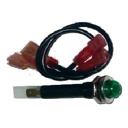 Lamp assembly, green - 125V - Bunn 12984.0002