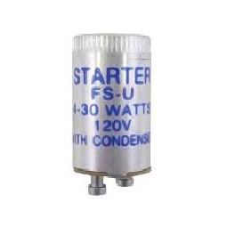 Lamp starter universal for 4W to 30W lamps