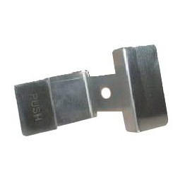 Push handle, S/S, Crathco 2266