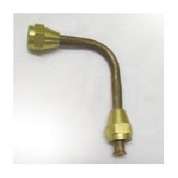 Tube formed inlet, copper