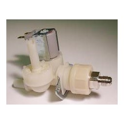 Dual solenoid valve, 120V .500 GPM - bypass with connection fitting