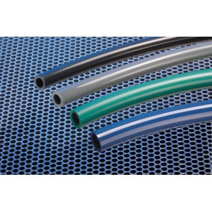 "Accuflex gray PVC general purpose hose 3/4""ID x 1""OD 100'"