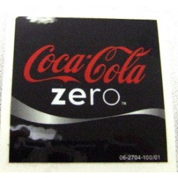 FS valve label, Coke Zero 2x2