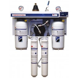 3M/Cuno TFS450RO reverse osmosis system, 300 gpd without blending/600 gpd with blending, .0005 microns