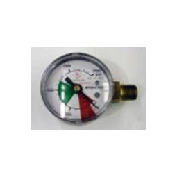 "Gauge 2000 lb 1/4"" MPT LH thread"