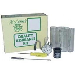 McCann's quality assurance kit