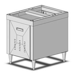 """McCann's IBD stand for 30"""" ice-bev dispenser"""