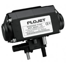 Flojet BIB pump 1/4 barb SS syrup out