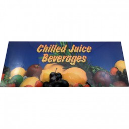 """Chilled Juice"" bonnet decal for 1500E, front"