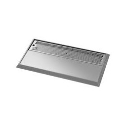 """Flooded tower drip tray, countertop, 30"""" x 14"""""""
