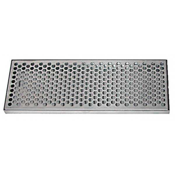 Stainless Steel Drip Tray With Ss Insert No Drain 5 3 8 X 3 4 X 10 3 8 Apex