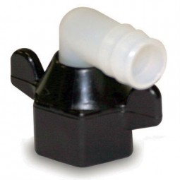 SHURflo 1/2 swivel nut x 1/2 barb elbow fitting