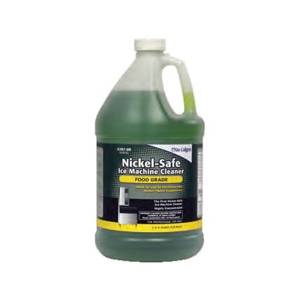 Nickel-Safe ice machine cleaner, 1 gallon bottle - APEX