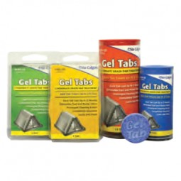 Gel Tabs condensate drain pan treatment, 3 ton tab (12 in tube)