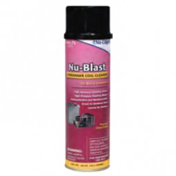 Nu-Blast® condenser coil cleaner, 18 oz. can