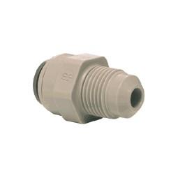 Male connector tube 3/8 OD x 1/4 MFL