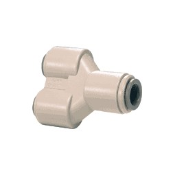 Two-way divider tube 1/2 OD 10/bag