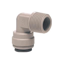 Elbow tube 3/8 OD x 3/8 MPT