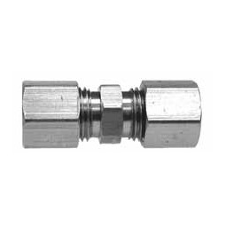 Brass 3/8 compression union