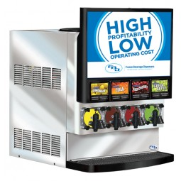 FBD 564 4 flavor, short door, side open, air cooled