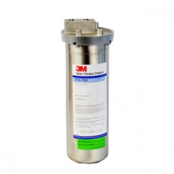 3M/Cuno CFSTSD filter system, SS housing, CFS217-H carbon cartridge, 2000 gal, 2 GPM, 5 microns