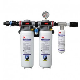3M/Cuno DP260 high flow dual port system 70,000 gal, 6.68 GPM, 0.2 microns