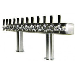 Pass thru box tower 18 faucet SS glycol