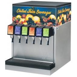 CED 1500E juice/non-carb dispenser, 6 Flomatic push button valves
