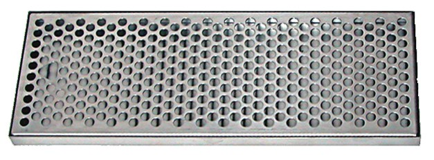 Stainless Steel Drip Tray With Ss Insert With Drain 7 X 7 8 X 30 Apex