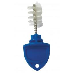 Kleen plug with brush