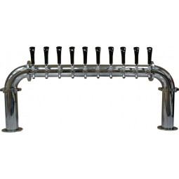 """Bridge tower 6 faucet 3"""" diameter (faucets and handles sold separately)"""