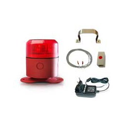 LogiCO2 detector/alarm MK10 1A stand alone - Must be CO2 certified to install LogiCO2 alarms