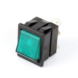 Brew switch, neon green, 120V
